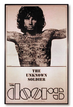 1968 The Doors Promotional Poster (21x33