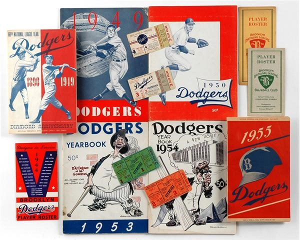 Jackie Robinson & Brooklyn Dodgers - June 2009 Catalogue