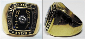 Chicago White Sox Championship Ring