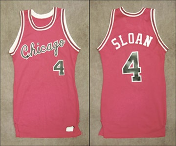 Early 1980's Chicago Bulls Game Worn Jersey