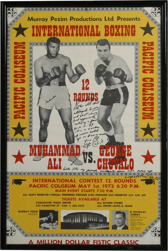 Muhammad Ali & Boxing - June 2009 Catalogue