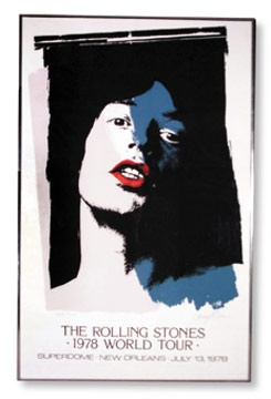 Rolling Stones World Tour '78 Poster (25x40