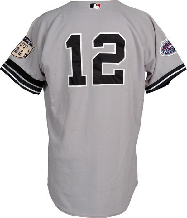 buy online b4605 5fda9 2008 Pudge Rodriguez Game Used Final Season New York Yankee ...
