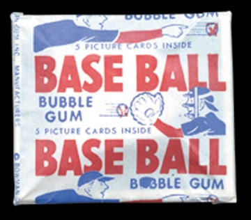 1950 Bowman Baseball Unopened Wax Pack