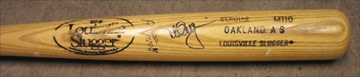 1980's Mark McGwire Signed Bat (34.5