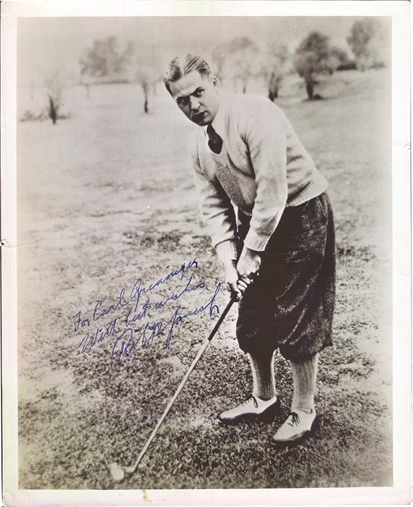 Bobby Jones Signed Photograph