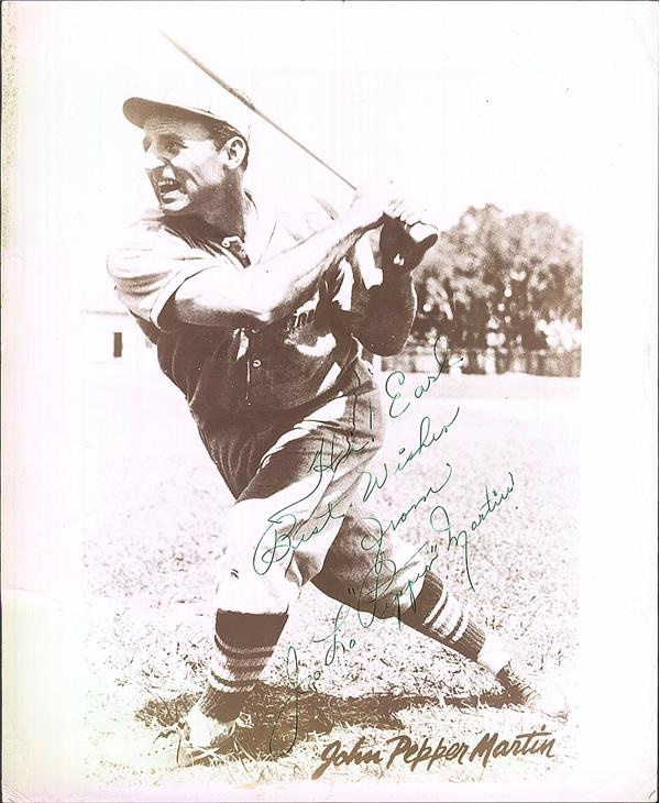 The Earl Grenninger Signed Photograph Collection - November 2009 Catalog