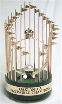 1972 World Series Championship Large Trophy (24
