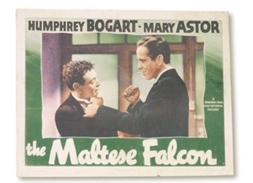 The Maltese Falcon Key Lobby Card