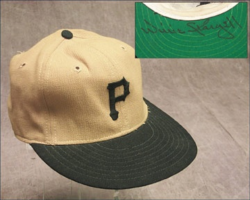 Circa 1971 Willie Stargell Game Worn Cap