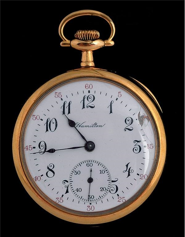 Circa 1908 Pocket Watch Presented To