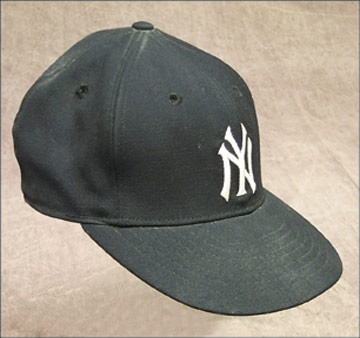 Circa 1961 New York Yankees Game Worn Cap