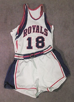 1963 Dave Zellar Cincinnati Royals Game Worn Uniform