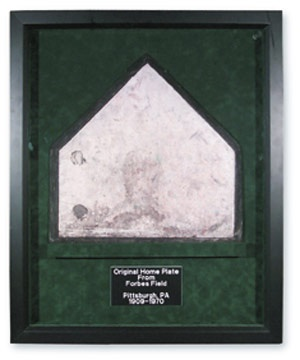 Circa 1970 Forbes Field Home Plate (26x32