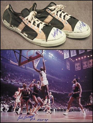 1950's Bill Russell Game Worn Sneakers