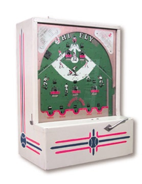 1950's Coin-Operated Baseball Game (7x16x22