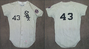1968 Gary Peters Game Worn Jersey