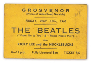 May 17, 1963 Ticket
