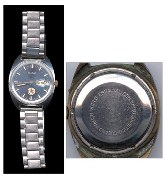 Soviet-Cuban Space Flight Presentational Watch