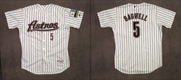 2000 Jeff Bagwell Game Worn Jersey