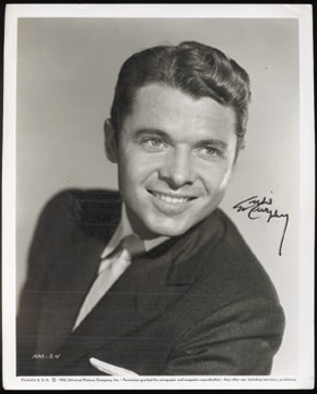 Audie Murphy Signed Photograph (8x10