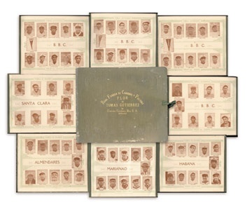 1923-24 Tomas Gutierrez Negro League Panoramic Premium Album
