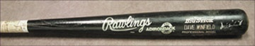 1988 Dave Winfield Game Used Bat (35.5