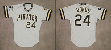 1988 Barry Bonds Game Worn Jersey
