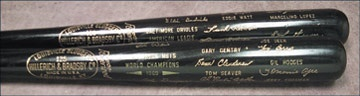 1969 Black Bat Set