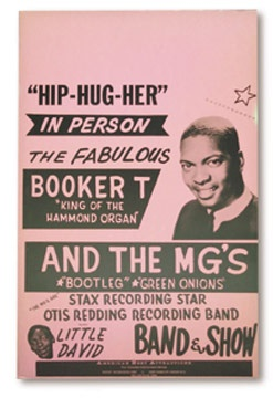 Booker T & The M.G.'s Tour Poster