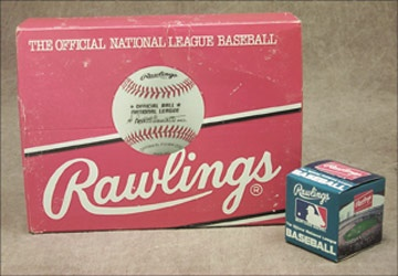 One Dozen ONL (Giamatti) Baseballs in Box