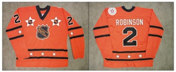 1976 Larry Robinson NHL All Star Game Worn Jersey