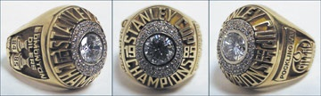Peter Pocklington's 1985 Edmonton Oilers Stanley Cup Championship Ring