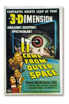 It Came From Outer Space 3-D Film Poster (27x41