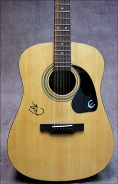 Eric Clapton Signed Acoustic Guitar