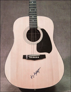 Jimmy Buffett Signed Guitar