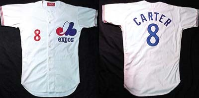 new arrival 8ee07 4614d Gary Carter 1979 Montreal Expos Jersey