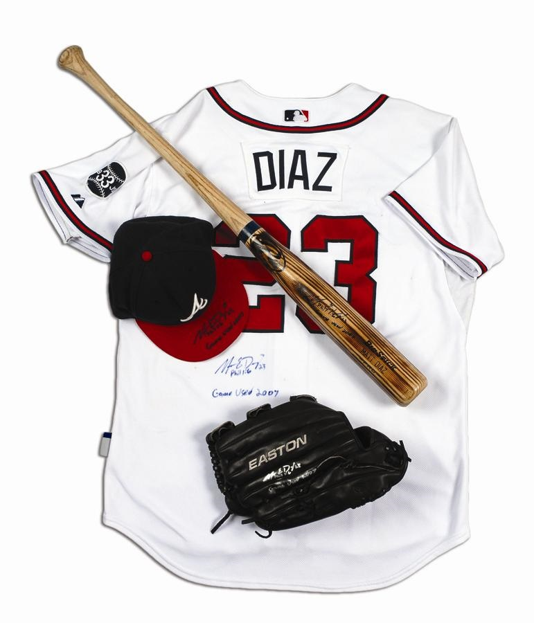 Game Used Baseball Jerseys and Equipment - June 2010 Catalog