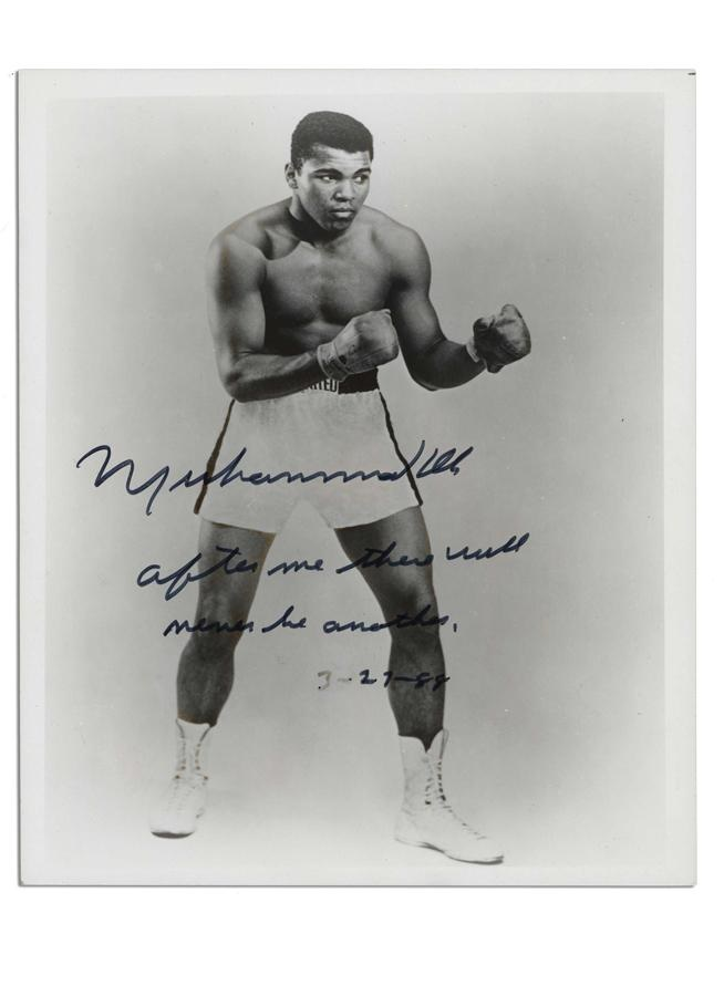 Muhammad Ali & Boxing - June 2010 Catalog