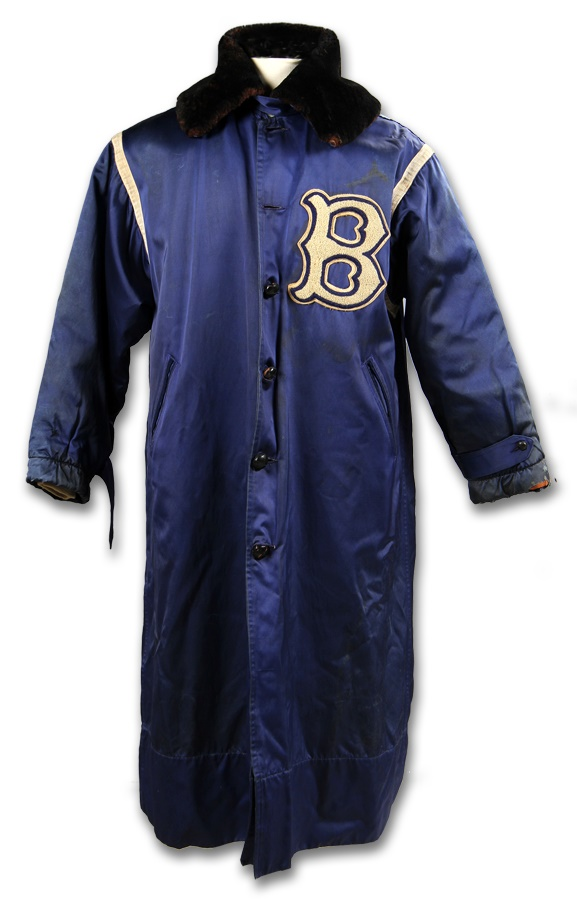 Leo Durocher Brooklyn Dodgers Cold Weather Jacket