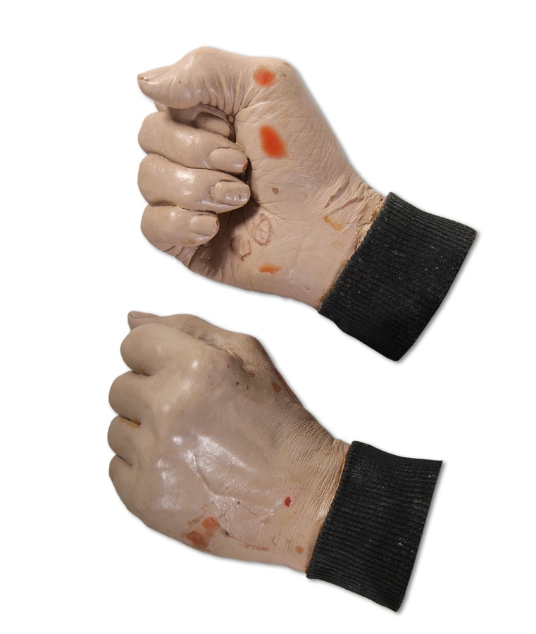 Buck O'Neil Original Life Cast Resin Hands