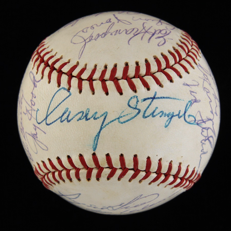 1963 New York Mets Team Signed Baseball