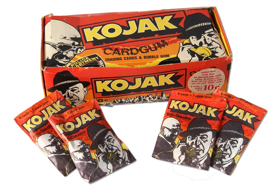 1975 Kojak Dutch Unopened Packs in Original Box