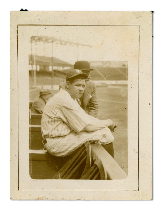 Exceptional Babe Ruth Snapshot