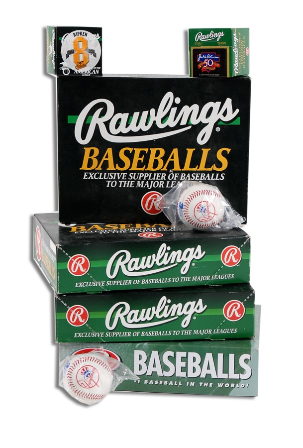 New Unused Baseballs