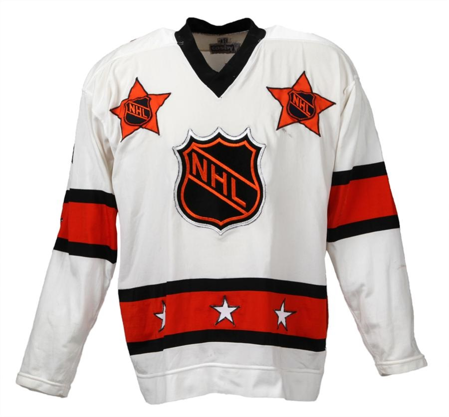 1978 Guy LaFleur All-Star Game-Worn Jersey