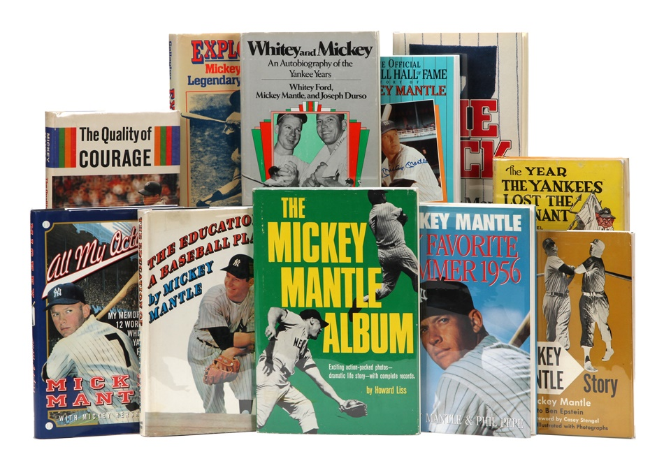Mantle and Maris - Fall 2012 Catalog Auction
