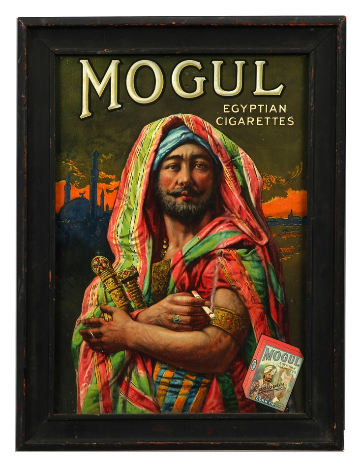 Mogul Cigarettes Advertising Sign