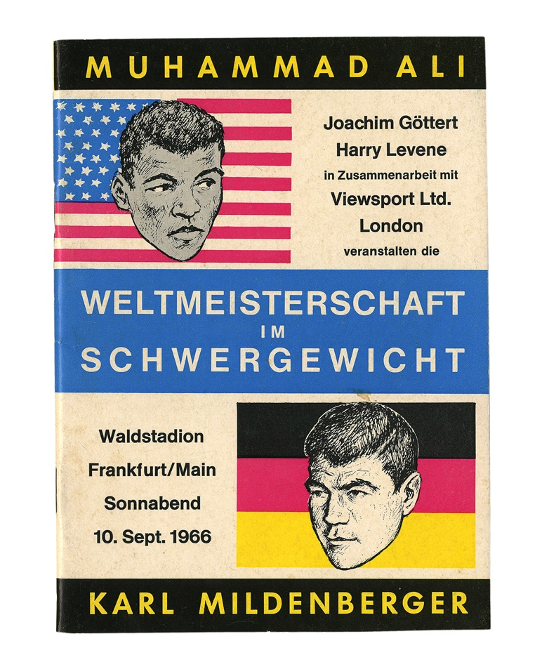 Muhammad Ali vs. Karl Mildenberger September 10, 1966 On-Site Program