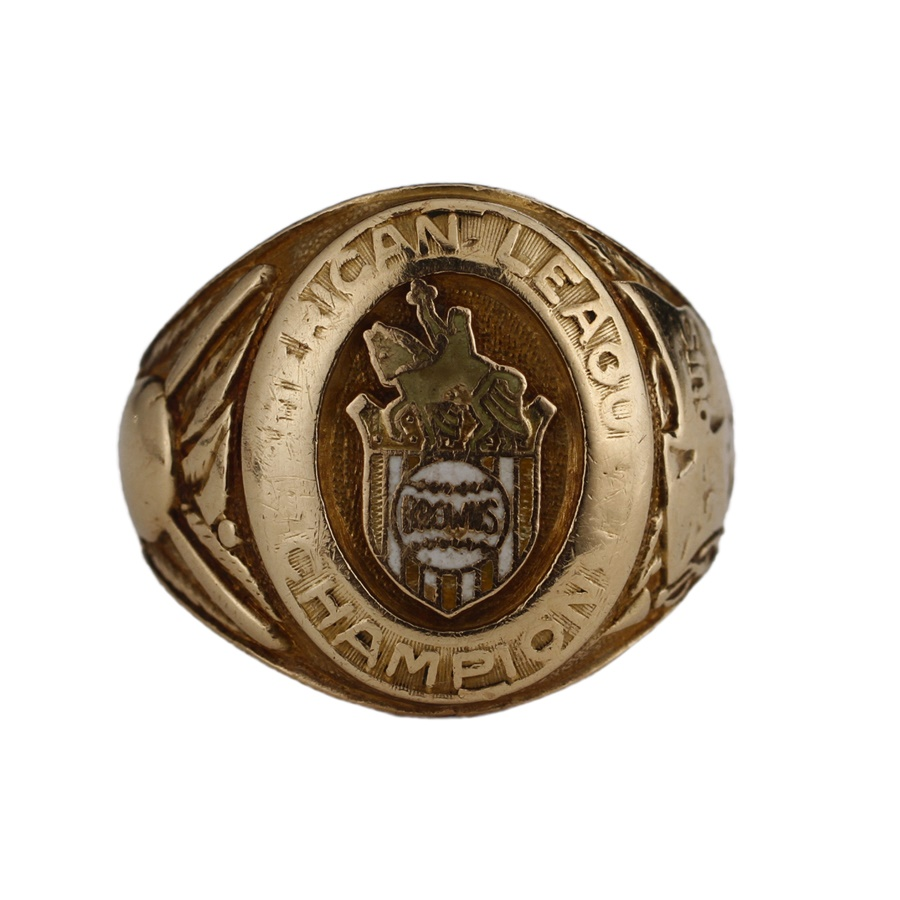 1944 St. Louis Browns American League Championship Ring